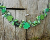 St Patricks Day Garland w Pot of Gold