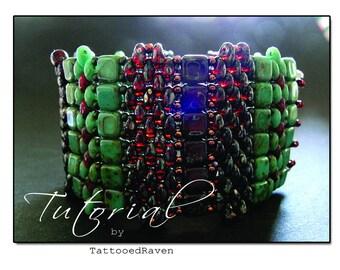 TUTORIAL Super Duo Blanket Bracelet