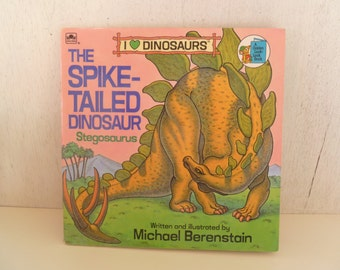 Vintage Dinosaurs Childrens Golden Book