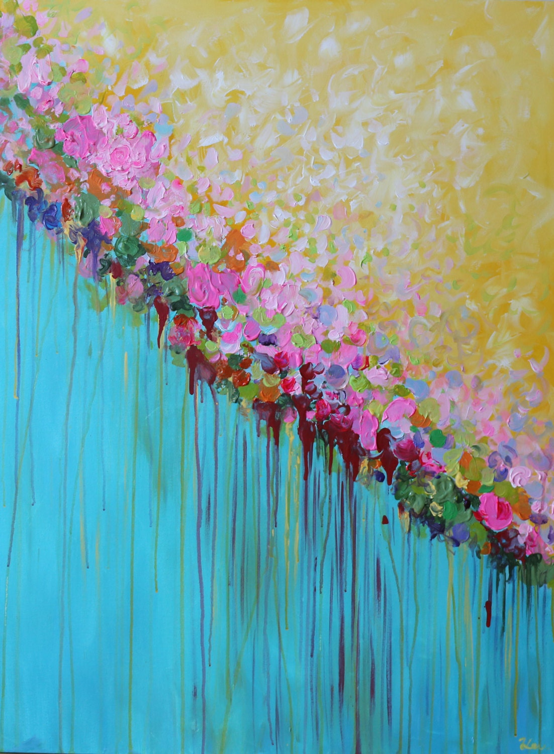 Acrylic Painting Ideas Flowers