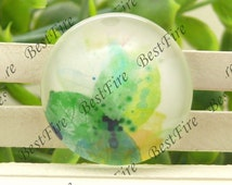 10mm,12mm,14mm,16mm,18mm,20mm,25mm,30mm Round Glass Cabochons Multicoloured,jewelry Cabochons finding beads,Glass Cabochons,Watercolor--01