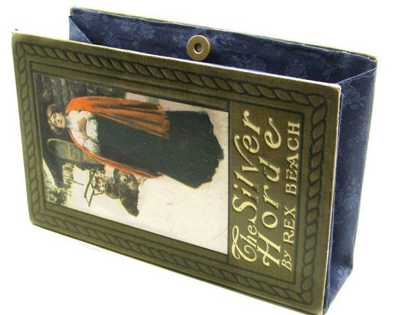 Vintage Romance Book Purse Book Clutch