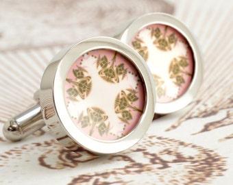 Art Nouveau Scottish Thistle Cufflinks