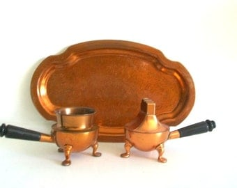 Vintage ASR Heritage 3 pc. Copper Lighter Set