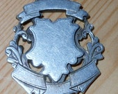 Sterling Silver Watch Fob c1901