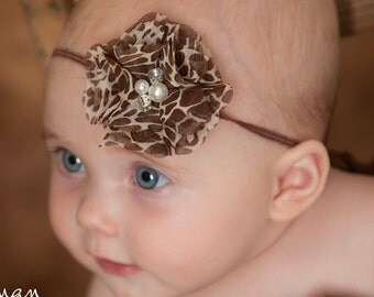 Baby Headband, Baby Headbands,Baby girl Headband,Newborn Headband,Flower Headband, Small Bow Headband, Giraffe Headband,Baby Hair Bows.