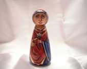 Saint Anna Mother of Theotokos - Catholic Icon Doll - made to order