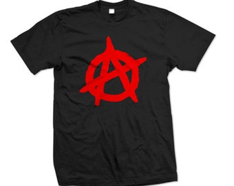 ANARCHY T-Shirt Liberty, Freedom! Shirt ( S - 5XL )
