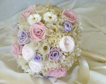 Wedding Bouquet - CLASSIC CRUSH, Bridal bouquet, Preserved flower bouquet, Wedding flowers, Bride's bouquet, Everlasting wedding bouquet.