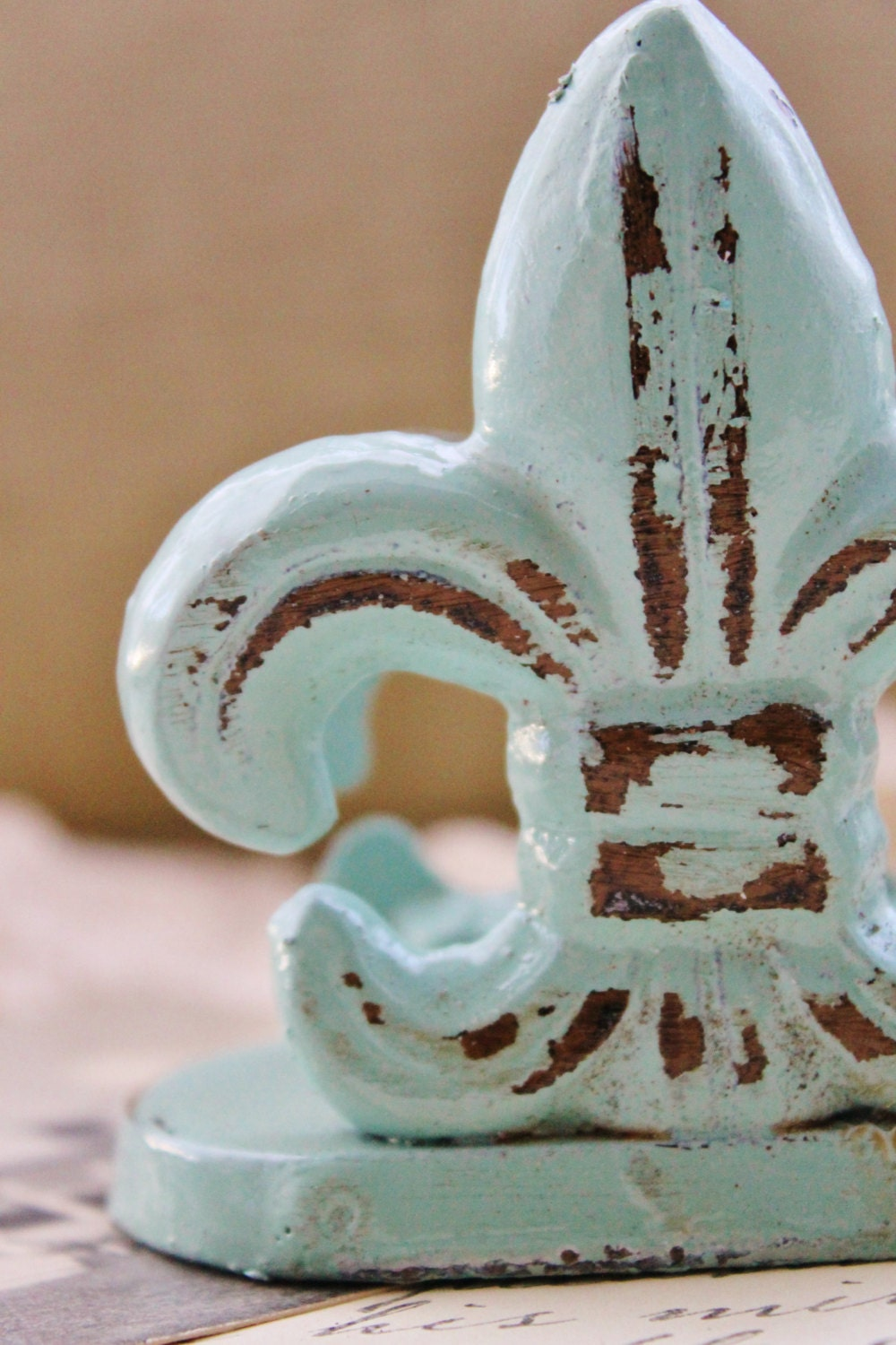 Catalina mist fleur de lis business card holder cast zoom magicingreecefo Gallery