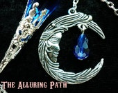 Moon Goddess Pendulum, You Choose the Color and Cone