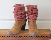 Cabled Leg Warmers Knitting Pattern