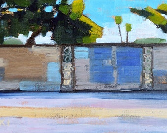 Wall, San Diego Landscape Painting
