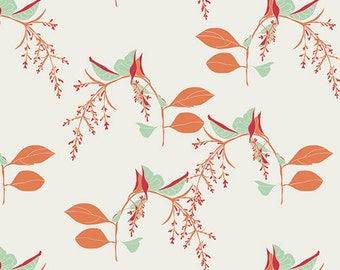 Reminisce Fabric, Branchlets in Porcelain by Bonnie Christine for Art Gallery Fabrics, 1 yard