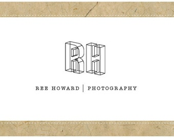 PreDesigned Logo - PreMade Logo - Vector Logo - Monogram Logo - REE Logo Design