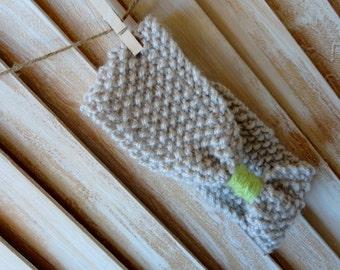 Baby Headband, Knit, Newborn, Headband, Knit, Handknit, Children Accessories, Earwarmer Photo Prop