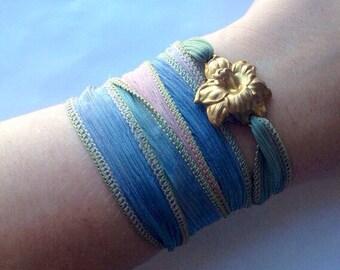Wrap Jewelry Ombre Bracelet /Anklet/Necklace/Choker/Headband/Headdress-Spring
