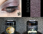 Violet Gray Grey Mineral Eye Shadow  Scaredy Cat - Bacchus - 5 mL Sifter