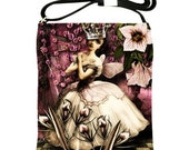 The Dance Leather Shoulder Sling Bag with Original Digital Artwork