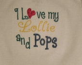 I Love My Lollie and Pops Bodysuit