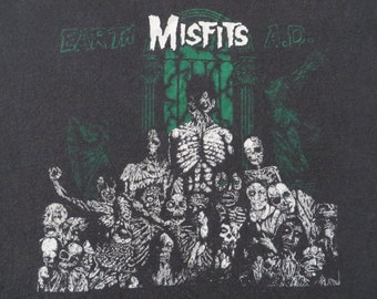 MISFITS vintage 1980s tour TSHIRT
