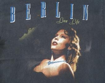 BERLIN vintage 1980s tour TSHIRT