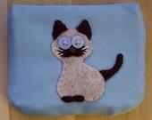 Siamese Cat, Small Pouch