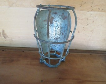Vintage Cage Light.