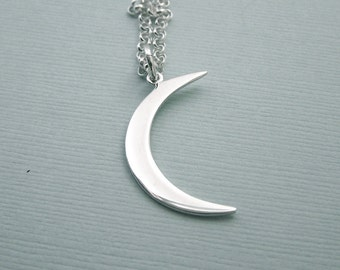 READY TO SHIP - Moon of My Life - Khaleesi Necklace - Crescent Moon Necklace - Game of Thrones