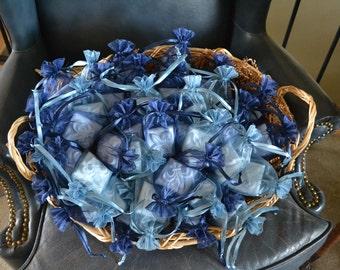 All Natural Soap 40 Handcrafted Fleur de lis Vegan Shower Favors, Wedding Party Favors Treasury List