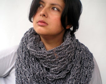 Ear of Wheat Circle Scarf  Super Soft Merino Wool Scarfr Woman Crochet Circle Scarf NEW