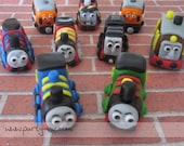 EDIBLE (Fondant Toppers) - Thomas the Train Inspired