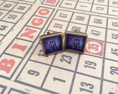 Square DOCTOR WHO TARDIS Bronze Cufflinks     Perfect for your fandom or Comic con guy