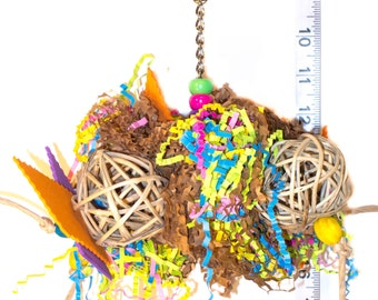 Miss Ruffles bird toy - Parrot Toys & Bird Toy Parts by A Bird Toy