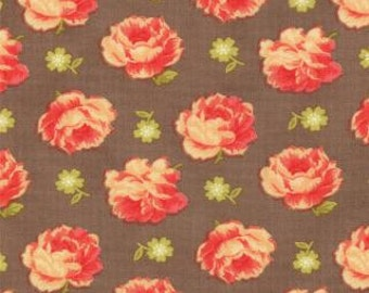 """End of Bolt 32.5""""  of Honeysweet Brocade Hazel by Fig Tree Quilts for Moda"""