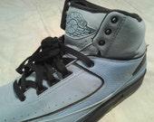 carolina blue air jordan 2 sneakers sz.9.5