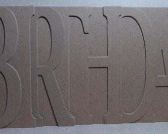 BIRTHDAY Chipboard Album 5.5 high x 12 inches long