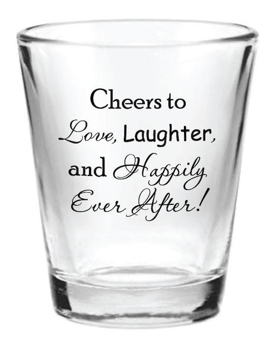 Wedding Favor Boxes For Shot Glasses : ... 5oz Wedding Favor Glass Shot Glasses Custom Romantic Wedding Favors
