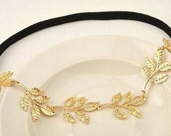 Olive Leaves Headband