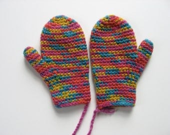 wool child's size 3 toddler mittens