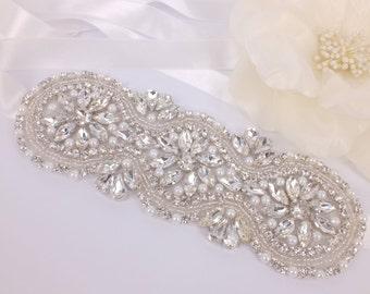 Viane - Vintage Style Rhinestone Crystals Wedding Head Band ,