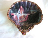 The Viking Princess Goddess Medium Shell Jewelry Dish