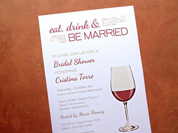 Bridal Shower Wine Invitations is good invitations template