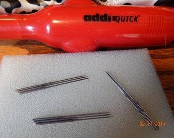 "Addi-Quick Needles- 3 each-Coarse-Med-Fine- 1 3/4"" long"