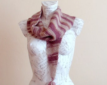 Hand knit multi color baktus scarf hand knit scarf for sale hand knit scarves knitted scarf cowl scarf hand knit scarf for sale baktus
