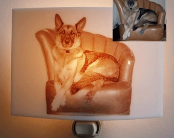 Custom nightlight with your picture, drawing, logo, etc