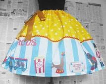 Circus Tamer Costume, Womens Costume, Circus Print Dress, Skirt, Circus Tamer Cosplay, Rooby Lane, ALL SIZES