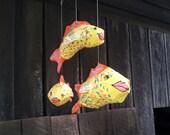 Folk Art Fish Mobile