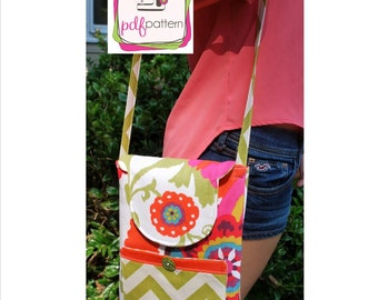 pdf iPad Purse Sewing Pattern - INSTANT DOWNLOAD!!!