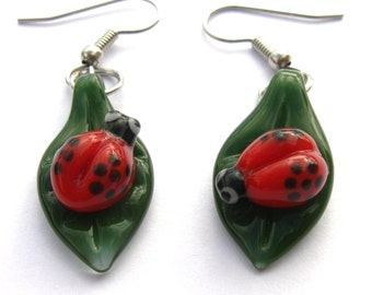 Little Ladybug Earrings